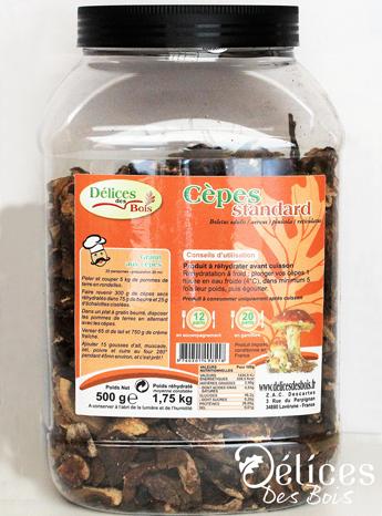 Cèpes standard tubo 500 g